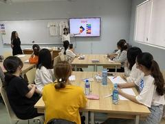 호찌민3 문화 프로그램 한국 전통 오방색_티셔츠 만들기